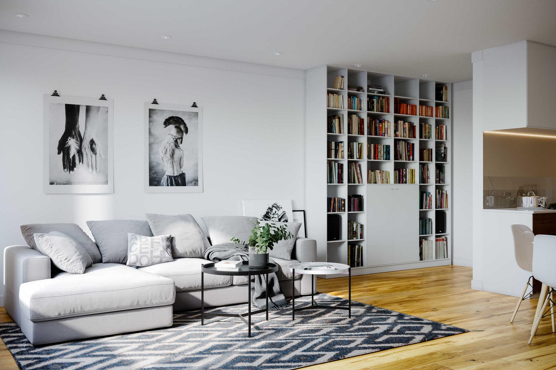Nová Úpická interiér